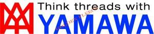 YAMAWA rosso blu con scritta