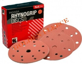 indasa-rhynogrip-red-line-6holes-150mm-50units_per_pack